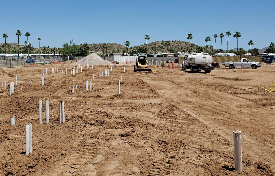 Solstice of Mesa - May 2020 progress | Tofel Dent Construction