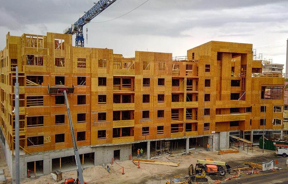 The Flin Luxury Apts - July 2020 progress | Tofel Dent Construction