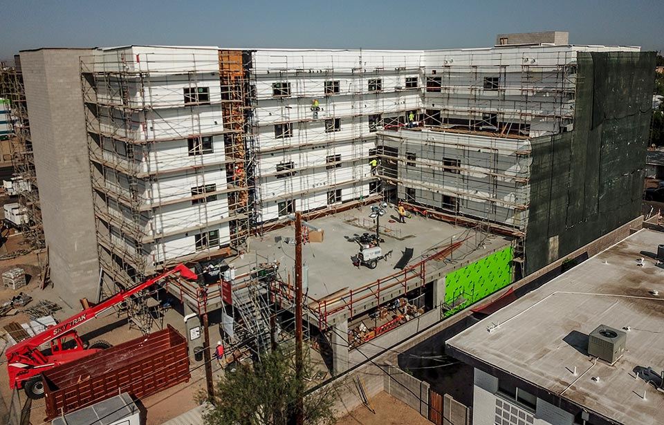 Acacia Heights - September 020 progress | Tofel Dent Construction