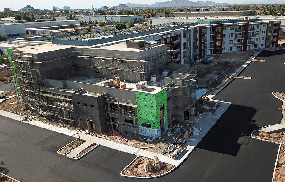 Broadway Apartments - August 2020 progress | Tofel Dent Construction