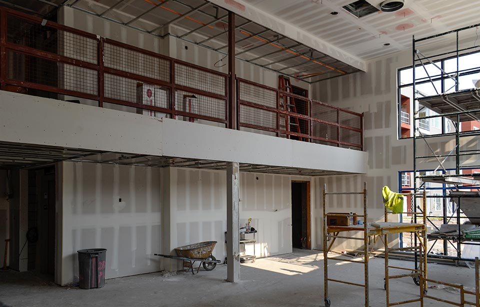Broadway Apartments - August 2020 progress | Tofel Dent Construction