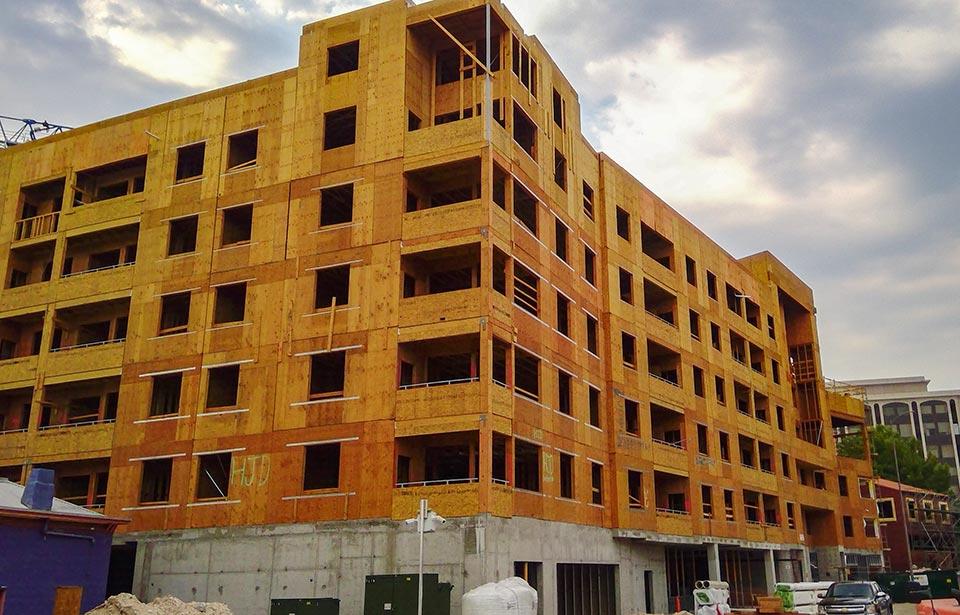 The Flin Luxury Apts - August 2020 progress | Tofel Dent Construction