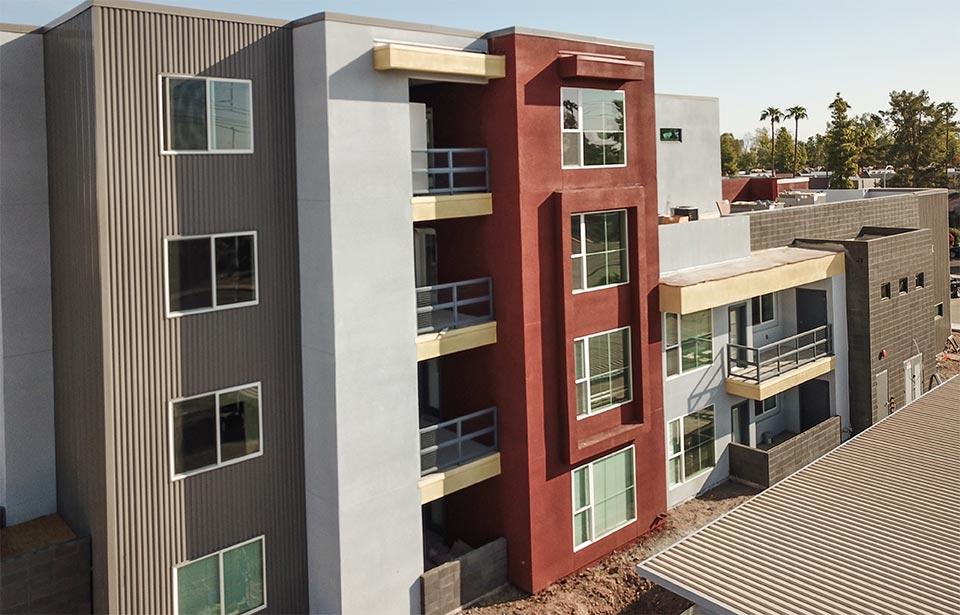 Broadway Apartments, Tempe - October 2020 progress | Tofel Dent Construction