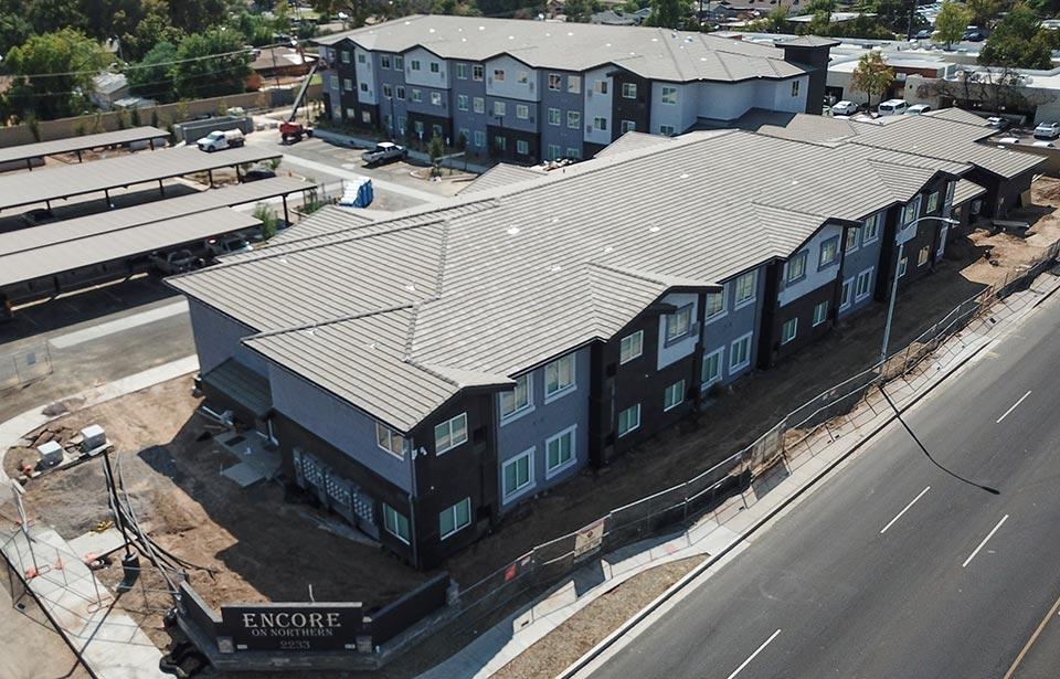 Encore on Northern - September 2020 progress | Tofel Dent Construction